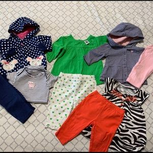 Carter's outfits set bundle